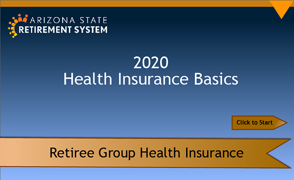 2020 ASRS Health Insurance Basic eLearning