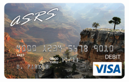 Photo of ASRS reloadable debit card