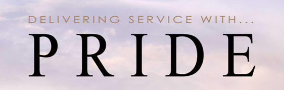 ASRS Delivering Service with Pride graphic