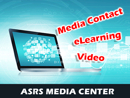 ASRS Media landing page graphic