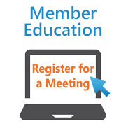 Register for a Member Education meeting