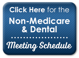 Non-Medicare Meeting Schedule