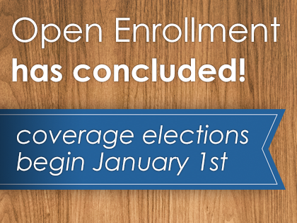 Open Enrollment 2017 completed