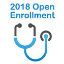 2018 Open Enrollment icon - medium size
