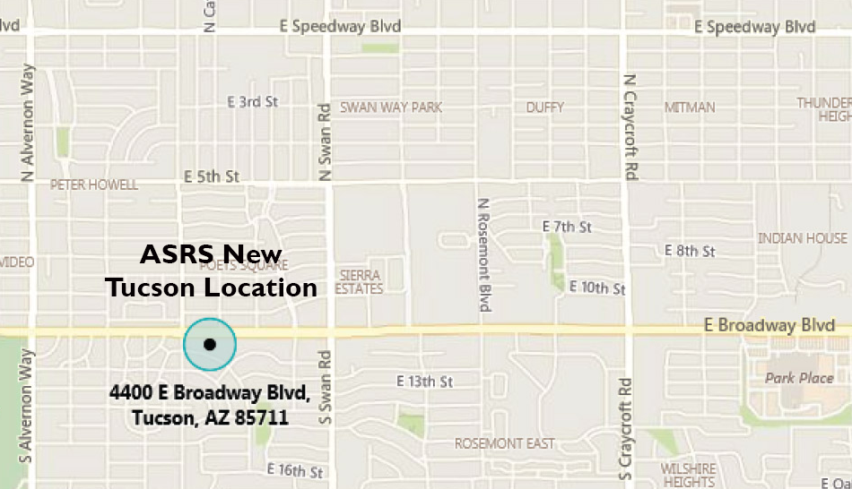 Map to new Tucson office location