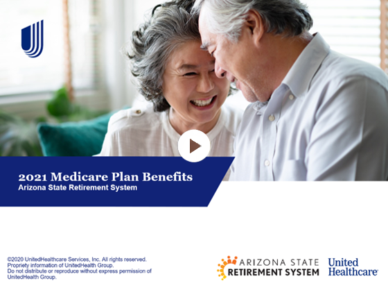 ASRS 2021 Medicare Plan Benefits