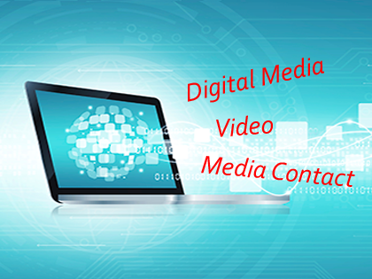 Digital Media and Media Contact image