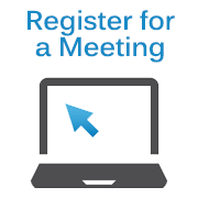 Register for a Meeting Icon - Medium