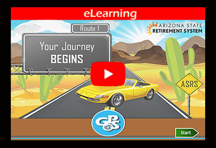 Clickable image for Route 1 eLearning