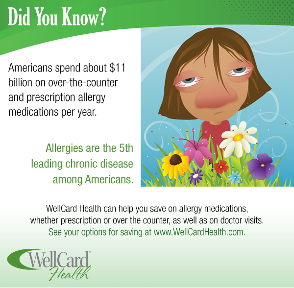 WellCard Health Card: Allergy Facts